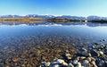 Liptovska Mara - water basin in region Liptov