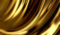 Liquid gold abstract design or art element for your projects Royalty Free Stock Images