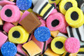 Liquorice Sweets Royalty Free Stock Photos