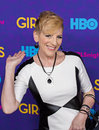Lisa lampanelli bawdy stand up comedian arrives on the red carpet for the new york premiere of the third season of the hit hbo Royalty Free Stock Images