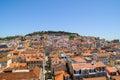 Lisboa landscape Royalty Free Stock Photo