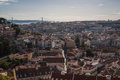 Lisboa Skyline Stock Photography