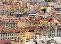Lisbon,Baixa district Royalty Free Stock Photo