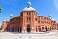Lisbon bullring campo pequeno moorish style portugal Stock Photo