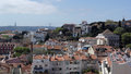 Lisbon the capital city of portugal view over Stock Photo