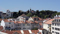 Lisbon the capital city of portugal view over Royalty Free Stock Photography
