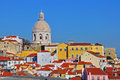 Lisbon cathedral close-up Royalty Free Stock Photo