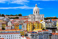 Lisbon cityscape. Royalty Free Stock Photo