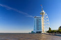 Lisbon expo tower vasco da gama built for the world exposition in portugal Royalty Free Stock Photos