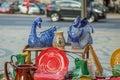 Lisbon Flee Market Royalty Free Stock Photo