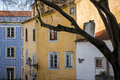 Lisbon graca neighborhood in portugal Stock Photography