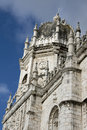 Lisbon - Jeronimos Monastery Belem, south facade d Stock Photography