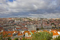 Lisbon panoramic view of portugal Stock Photography