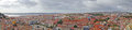Lisbon panoramic view of portugal the photo was taken from saint geaorge s castle Stock Images