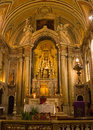 Lisbon portugal chancel of santo antónio church the in built where existed the house where was born saint Stock Photo