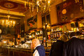 Lisbon, Portugal: inside de historic coffee shop Brasileira do Chiado Royalty Free Stock Photo