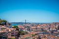 Lisbon Portugal Landscape Royalty Free Stock Photo