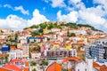 Lisbon, Portugal Skyline Royalty Free Stock Photo