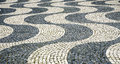 Lisbon portugal tile floor in Stock Photography