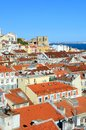 Lisbon Rooftops Stock Images