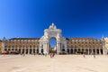 Lisbon square gate Royalty Free Stock Photo
