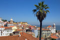 Lisbon and the tejo river view of alfama Royalty Free Stock Photography