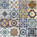 Lisbon tiles Royalty Free Stock Photo