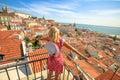 Lisbon tourist viewpoint
