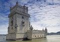 Lisbon - Tower of Belem Royalty Free Stock Photo