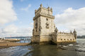 Lisbon the tower of belem in Stock Images