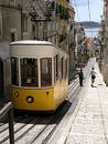 Lisbon Tram Royalty Free Stock Images