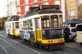 Lisbon tram january th an old traditional on january the th in portugal s number is one of the city s cultural Stock Photos