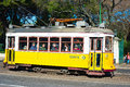 Lisbon tram portugal january an old traditional on street of portugal s number is one of the city s cultural Stock Photography