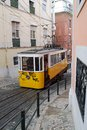 Lisbon typical Tram Stock Image