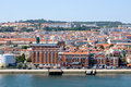 Lisbon view of the city portugal Stock Image