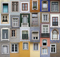 Lisbon windows Royalty Free Stock Photo