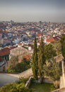 Lisbons city panorama of spring portugal Royalty Free Stock Photography