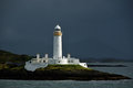 Lismore Lighthouse on Eilean Musdile Royalty Free Stock Image