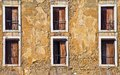 Lissbon Windows Royalty Free Stock Photos
