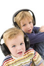 Listening Together Royalty Free Stock Image