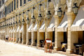 Liston Promenade, Corfu Royalty Free Stock Photo