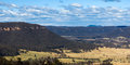 Lithgow view Royalty Free Stock Images