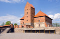 Lithuanian king castle Trakai Royalty Free Stock Photo