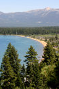 Litorale del Lake Tahoe Immagine Stock