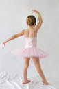 Littel girl Ballerina Royalty Free Stock Photo