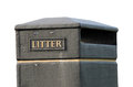 Litter bin Stock Photography