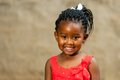 Little African Girl With Braid...