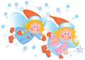 Little angels. Stock Photos
