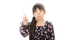 Little asian girl Royalty Free Stock Images