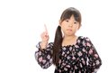 Little asian girl Royalty Free Stock Image